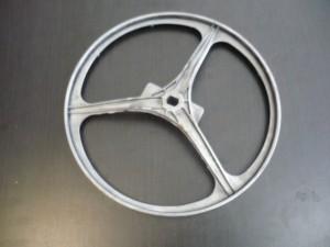 Whirlpool AWM ékszíjtárcsa,bontott.298x13x17mm. Ára:2200ft