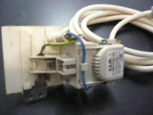 Indesit zavarszűrő kondenzátor+tápvezeték Bontott,ép. Ára:2990ft