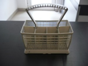 Evőeszköztartó kosár mosogatógépbe, bontott Ára:2000ft Kosár01