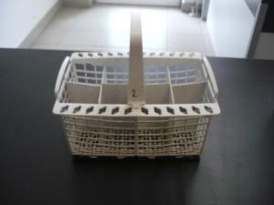 Evőeszköztartó kosár mosogatógépbe, bontott Ára:2000ft Kosár02
