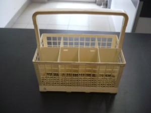 Evőeszköztartó kosár mosogatógépbe, bontott Ára:2000ft Kosár04