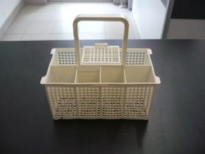 Evőeszköztartó kosár mosogatógépbe, bontott Ára:2000ft Kosár05