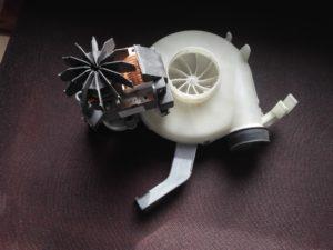 Electrolux mosó-szárítógéphez szárítómotor
